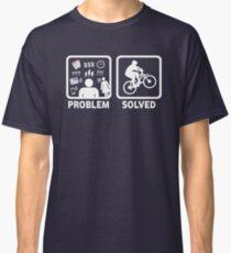 Problem Solved Mountain Biking Classic T-Shirt