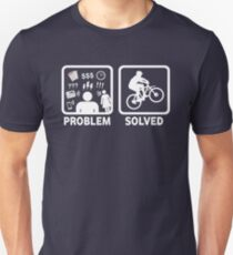 Problem Solved Mountain Biking T-Shirt