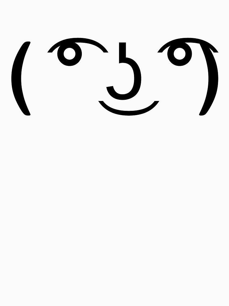 Le Lenny Face (   ) | Unisex T-Shirt