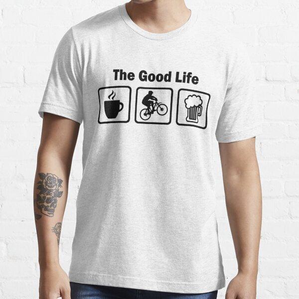 Das gute Leben Mountainbiken Essential T-Shirt