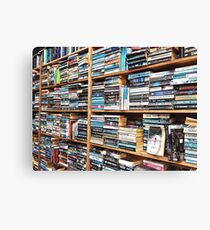 You can never have too many books. Canvas Print