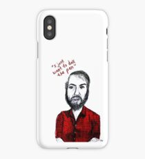 I Just Want to Dull the Pen iPhone Case/Skin