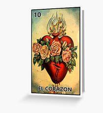 El Corazon Greeting Card