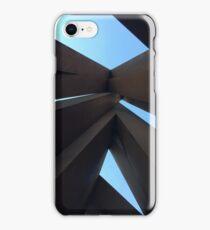 "Bernar Venet's ""Disorder: 9 Uneven Angles"" iPhone Case/Skin"