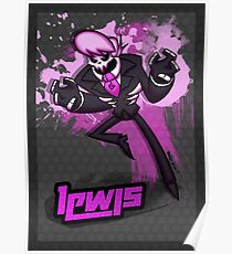 Mystery Skulls Animated - Lewis Fighting is Magic style Poster
