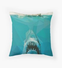 """You're Going To Need A Bigger Boat"" Throw Pillow"