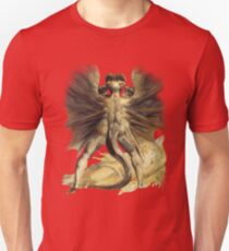 William Blake: The Great Red Dragon Unisex T-Shirt