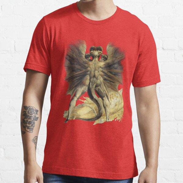 William Blake: El Gran Dragón Rojo Camiseta esencial