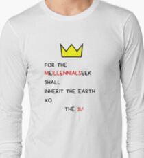 millennials  Long Sleeve T-Shirt