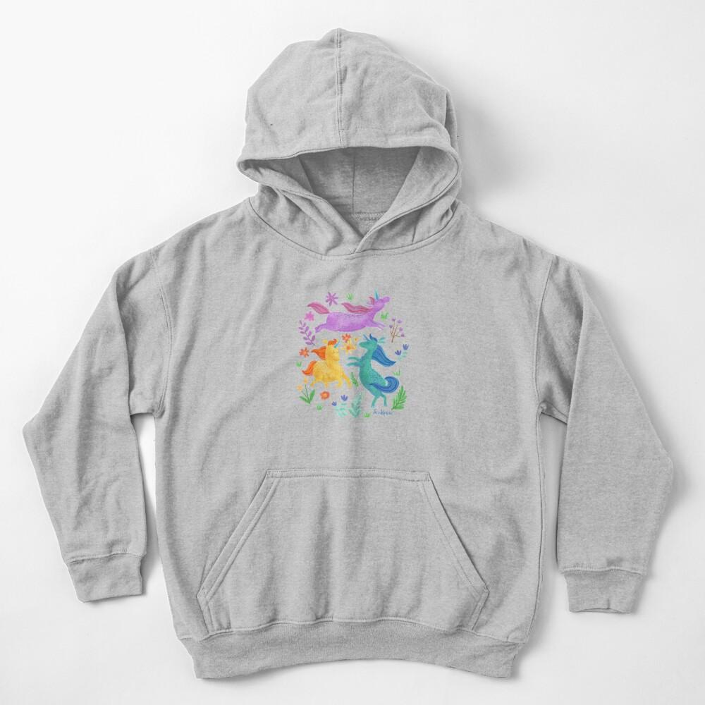 Unicorn Dreams Kids Pullover Hoodie