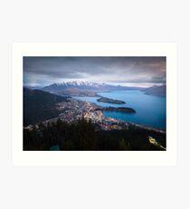 Queenstown - New Zealand Art Print
