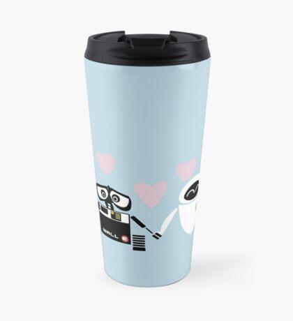 Eve and Walle love Travel Mug