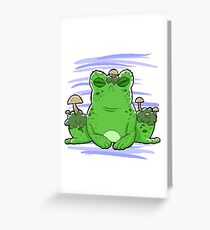 Toadstool Toad  Greeting Card