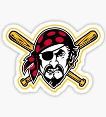 America's Game - Pittsburgh Pirates Sticker