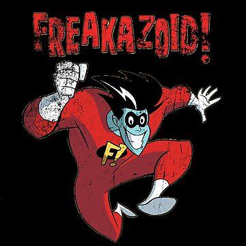 Freakazoid! - Vintage Logo by Monky695