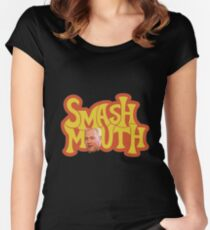 Smash Mouth Chris Harwell O Women's Fitted Scoop T-Shirt