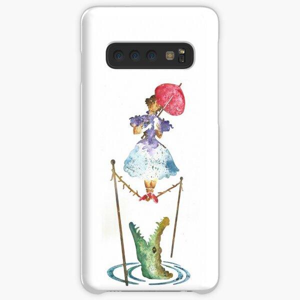 Perilous Pink Parasol - Stretching Portrait Samsung Galaxy Snap Case