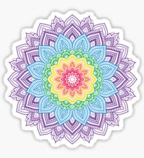 Pegatina Rainbow Mandala