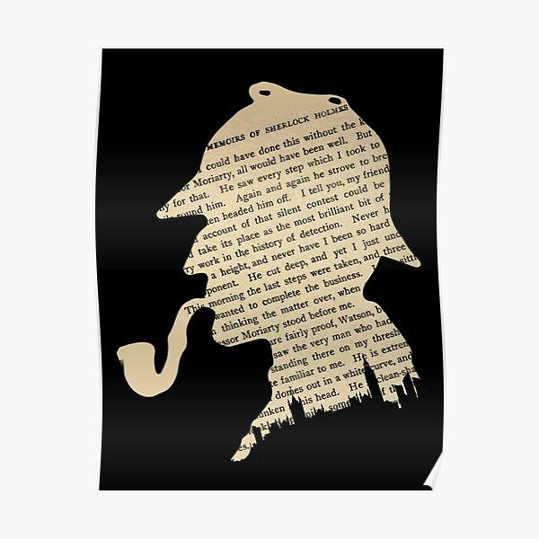 Sherlock Holmes classique Poster