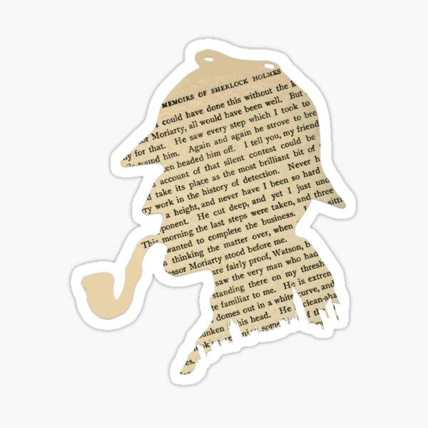 Sherlock Holmes classique Sticker