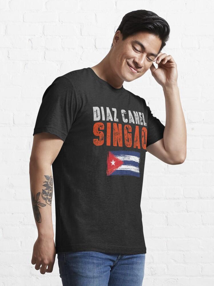Alternate view of Diaz Canel Singao Essential T-Shirt
