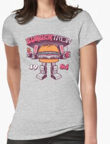 BurgerTRON Womens Fitted T-Shirt