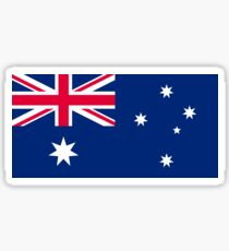 Australian Flag Sticker
