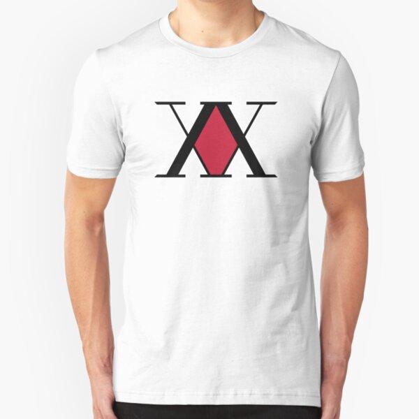 Hunter x Hunter  Logo Slim Fit T-Shirt