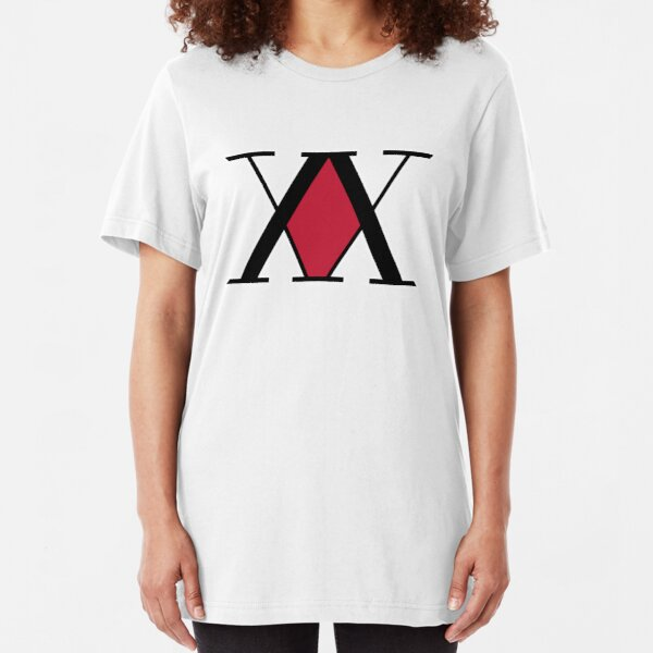 Hunter x Hunter  Logo Slim Fit T-Shirt