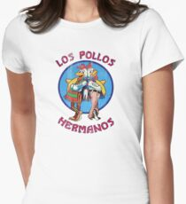 VIntage Los Pollos Hermanos Women's Fitted T-Shirt