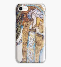 Alphonse Mucha - Gismonda  iPhone Case/Skin