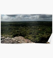 View from the top of the world Poster