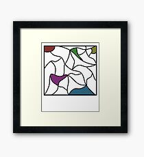 The colours within Framed Print