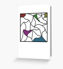 The colours within Greeting Card