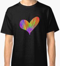 Cool Tie-Dye Heart Classic T-Shirt