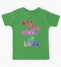 All You Need Is Love Kids Tee
