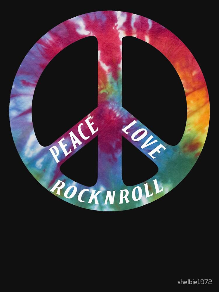 Peace, Love, Rock N' Roll | Women's T-Shirt