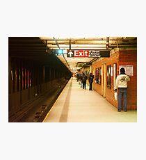 Lámina fotográfica Estación de metro