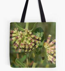 Green Milkweed, Green Comet Milkweed Tote Bag
