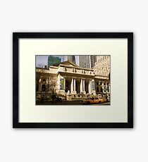 Not Your Average Library Framed Print