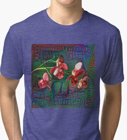 Phalaenopsis A #DeepDream Tri-blend T-Shirt