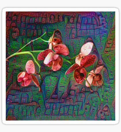 Phalaenopsis A #DeepDream Sticker