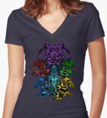 Legendary Defenders Women's Fitted V-Neck T-Shirt