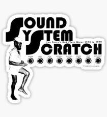 Sound System Scratch : Dub Plate Mixes 1973 To 1979 Sticker