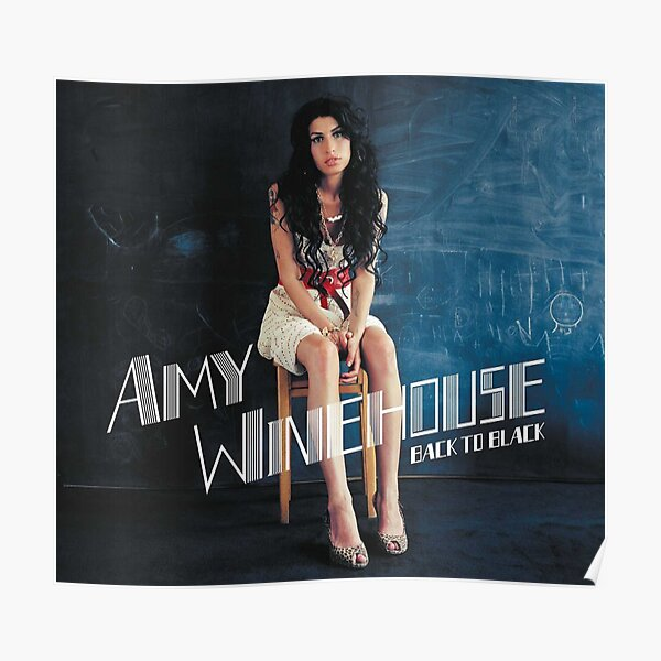 Black To Winehouse Poster