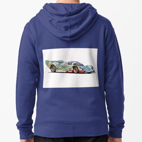Le Mans Tic Tac Porsche Zipped Hoodie