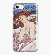 Alphonse Mucha - La Dansedance iPhone Case/Skin