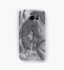 Hungarian horntail - BW Samsung Galaxy Case/Skin