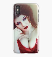 Crimson Queen II iPhone Case