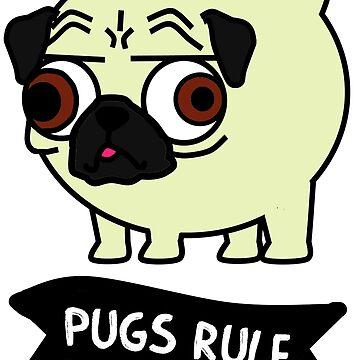 Pugs Rule by CharlotteBarlow